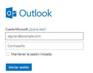 Hotmail - bandeja de entrada